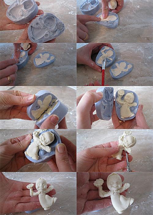 Как сделать фигурку из молда